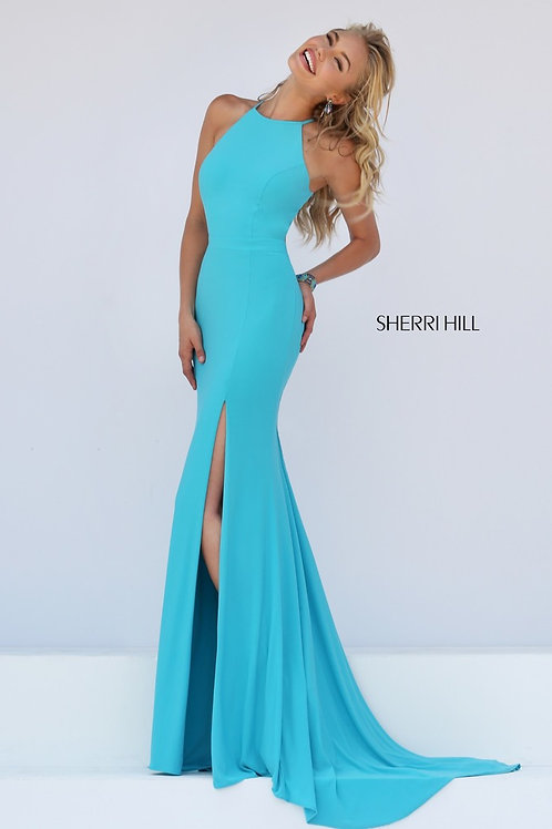 Sherri Hill - 32340 Turquoise Size 4