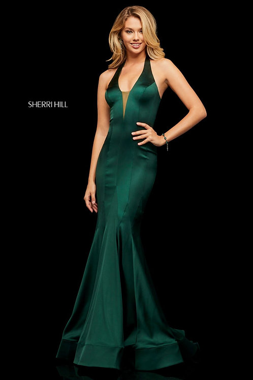 Sherri Hill- 52887 Olive Size 0