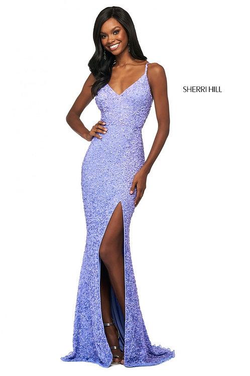Sherri Hill - 53449 Periwinkle Size 14