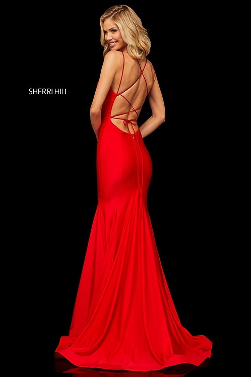Sherri Hill - 52779 Orchid Size 4
