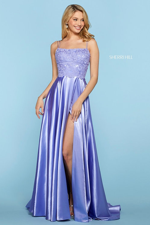 Sherri Hill - 53300 Lilac Size 12