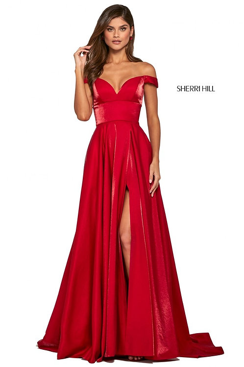 Sherri Hill - 53324 Red Size 18