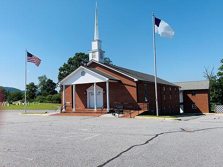 church frt outside