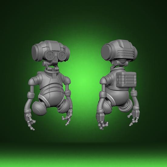 AZI Medical droid