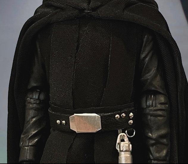 Custom Jedi Belt - Faux Leather w/ all metal hardware