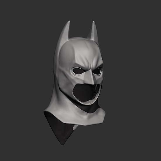 Empty Batman Begins Cowl