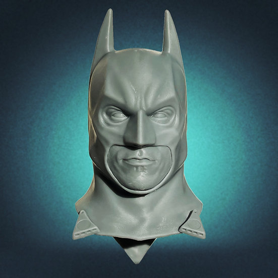 Unpainted Batman Begins Cowl + Swappable Chins
