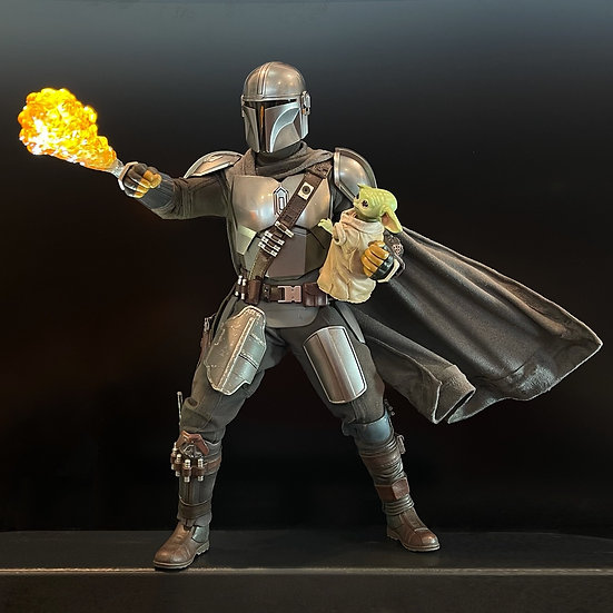 Wired Cape for 1:6 Mandalorian