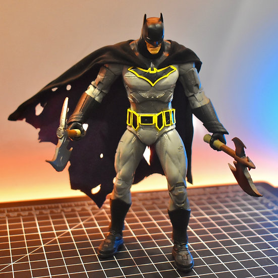 Wired Two Tone Cape for Batman Dark Knights Metal