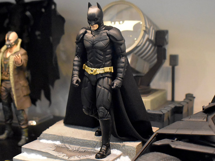 Shoulder Pads for MAFEX Batman 3.0