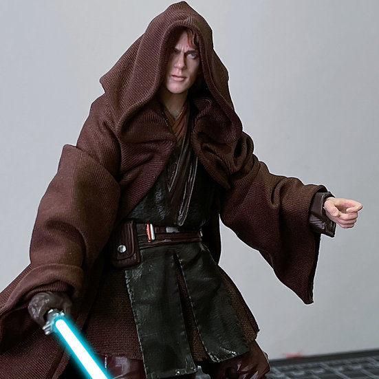 """Wired Cloak for any 6"""" Jedi or Sith"""