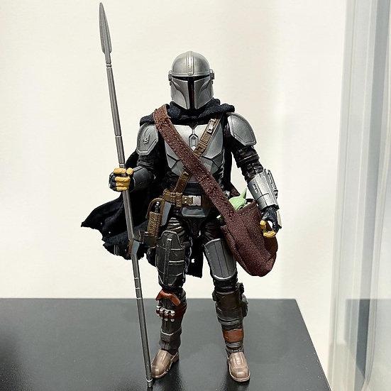 1:12 Mandalorian Beskar Spear & Right Thigh