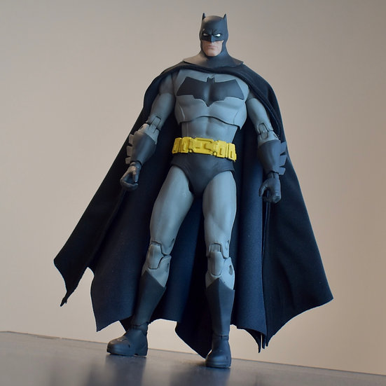 """Two Tone Cape - Black and Dark Blue for 6""""-7"""" Batman Figures"""