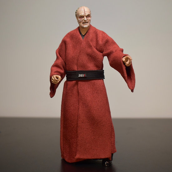 Emperor Palpatine red robe and belt - The Rise of Skywalker