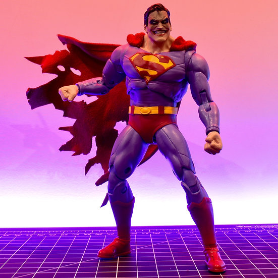 Wired Cape for McFarlane Superman (The Infected)