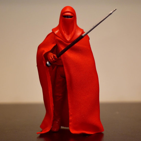"""Wired Fabric Cape for 3.75"""" Emperor's Royal Guard"""