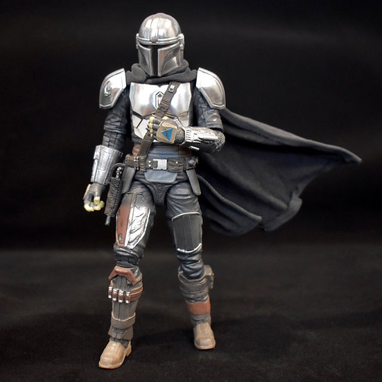 """Wired Cape for 6"""" Mandalorian"""