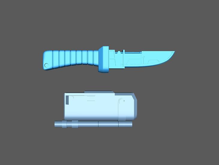 Hunter Arm Knife Upgrade