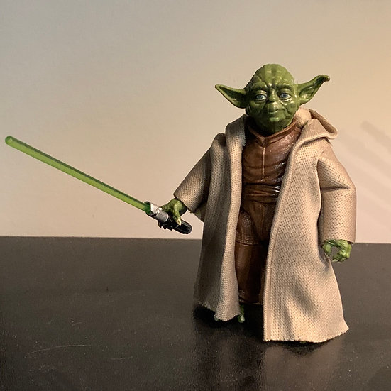 """Wired Hooded Robe for any 6"""" Yoda"""