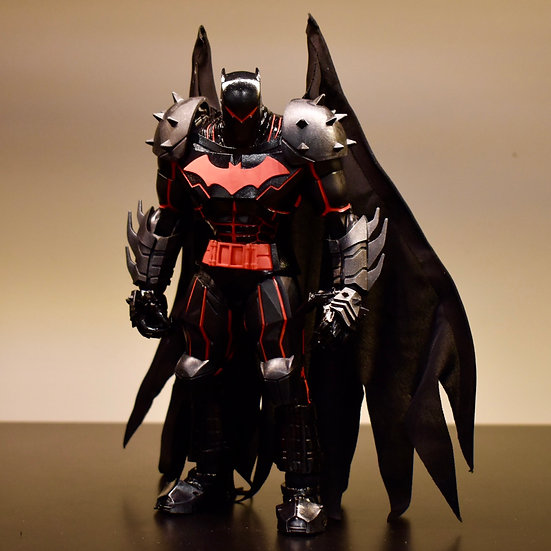 Wired Cape for McFarlane Hellbat