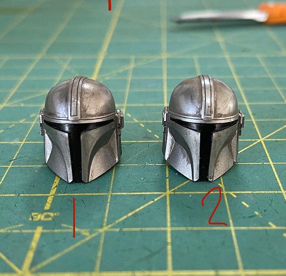 SCRAPYARD - Painted 1:12 Mandalorian Helmet