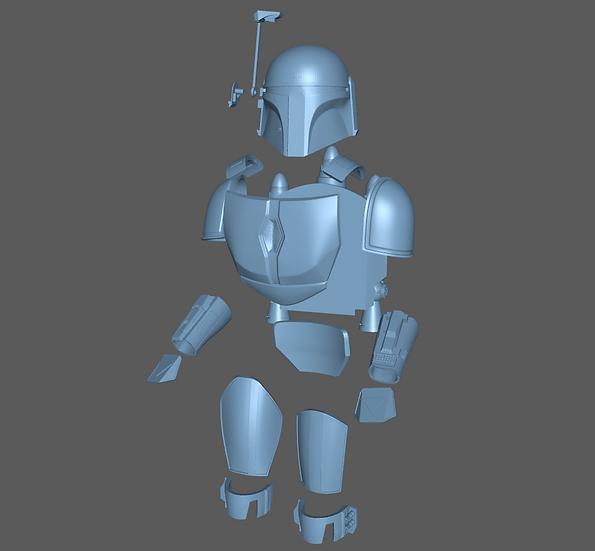Armor Up Set -  Death Watch Mandalorian