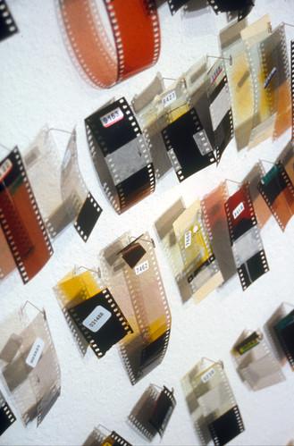 saved - film pieces (detail)