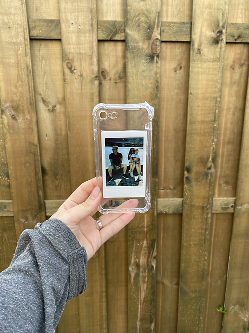 Telefoonhoesje met polaroid foto