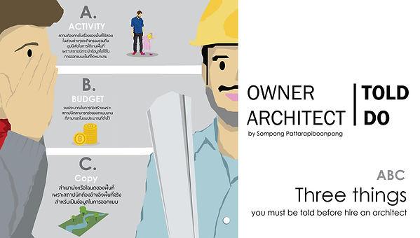 3 สิ่งที่ต้องเตรียมก่อนการจ้างสถาปนิก.jp
