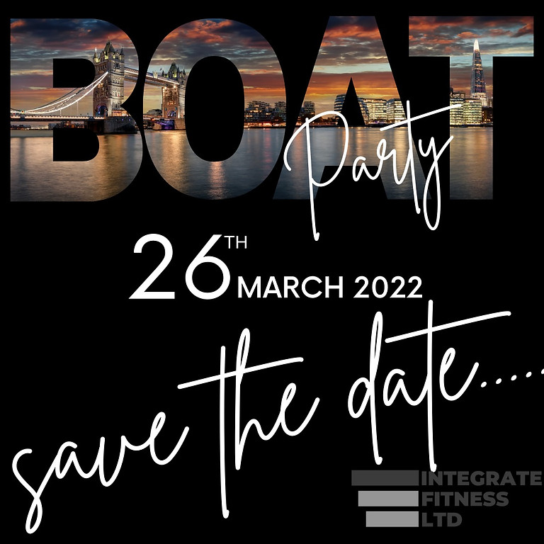 Integrate Fitness - The Boat Party 2022