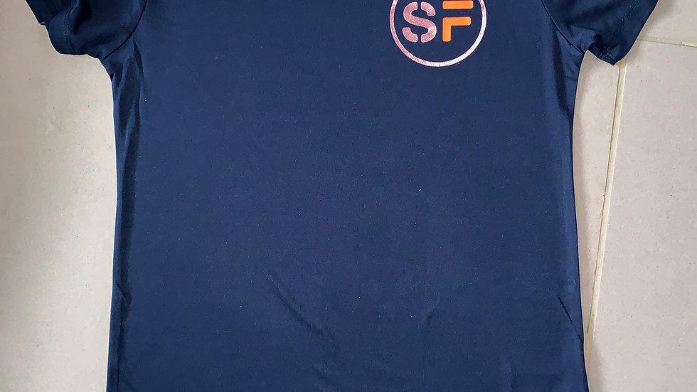 SinFit Rose Gold Cool Dry T-Shirt