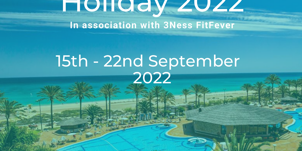Integrate Fitness Holiday 2022