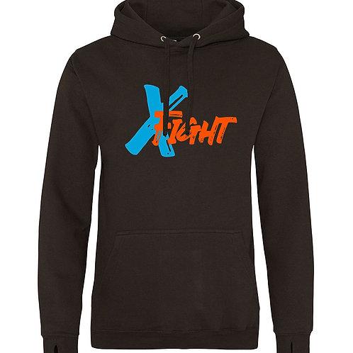 X Fight Hoodie (2) - Black