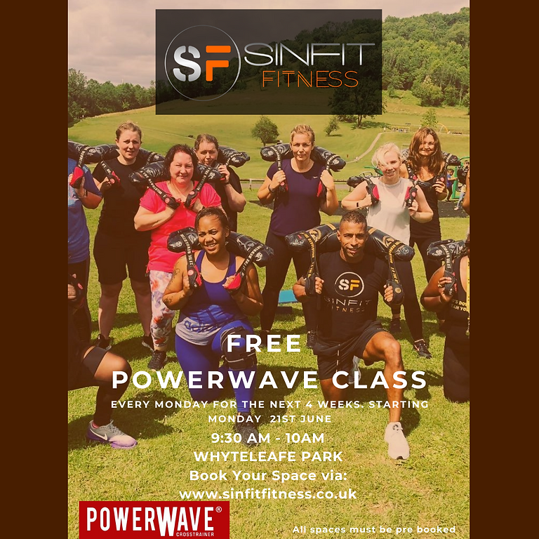 **FREE PowerWave in the Park**