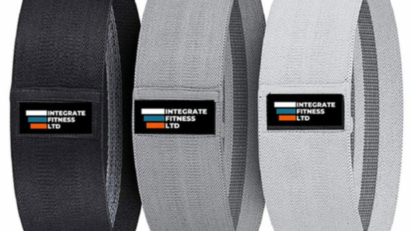 Integrate Fitness Resistance Band Set (3xBands)