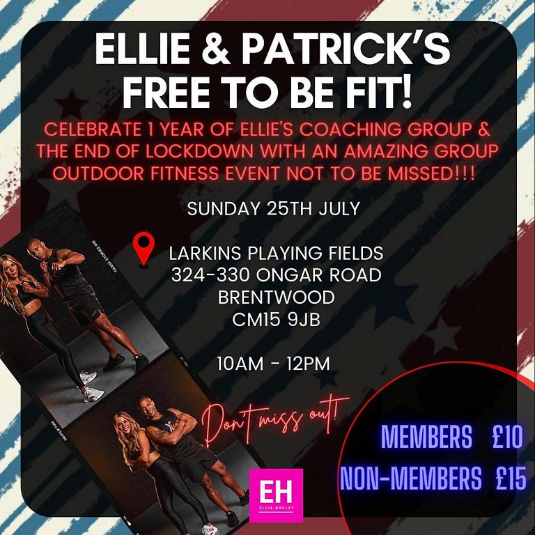 Ellie & Patrick: Free To Be Fit