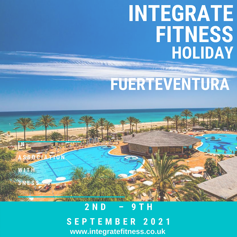 Integrate Fitness Holiday 2021