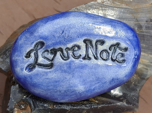 LOVE NOTE Magnet - Exotic Blue