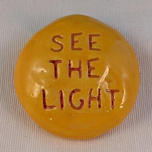 SEE THE LIGHT Pocket Stone - Sun Yellow