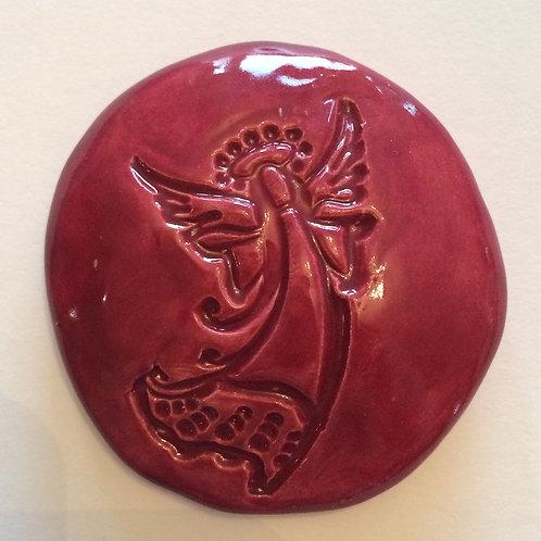 ANGEL Pocket Stone - Raspberry Red