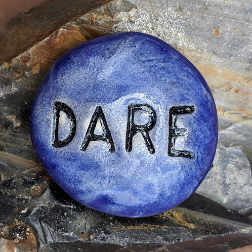 DARE Pocket Stone - Exotic Blue