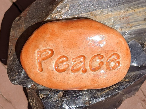 PEACE Pocket Stone - Tuscan Sun