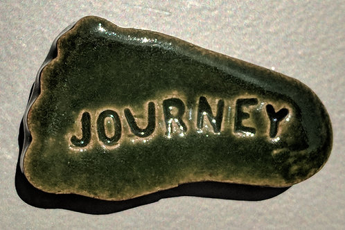 JOURNEY Foot-shaped Magnet - Green