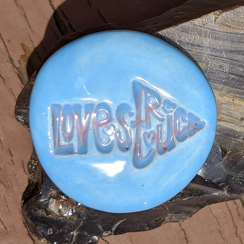 LOVE STRUCK Pocket Stone - Sky Blue
