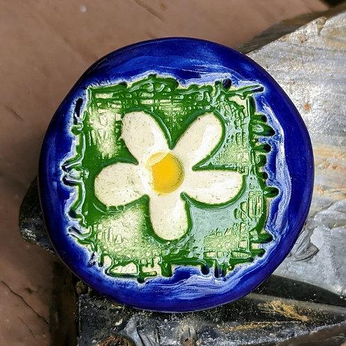 DAISY Pocket Stone - Green & Blue