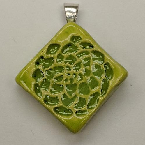 SUCCULENT Pendant - Green