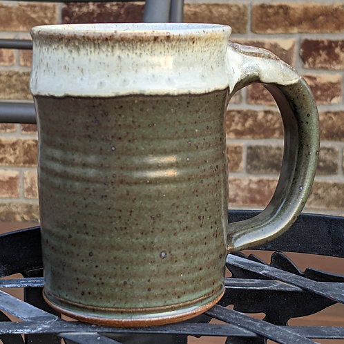 STONEWARE MUG by TC Pottery Studio - Spruce Green