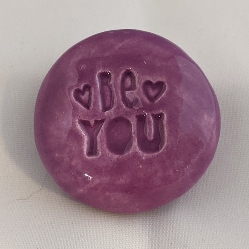 BE YOU Pocket Stone - Tanzanite