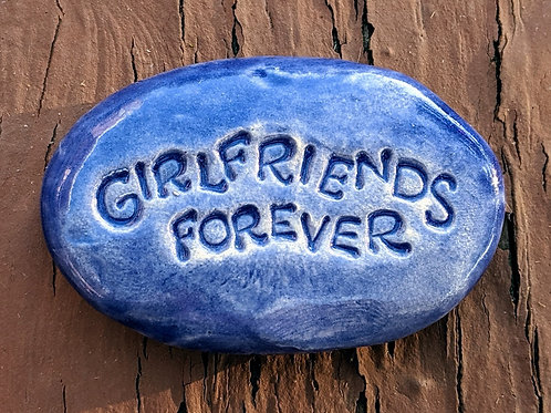 GIRLFRIENDS FOREVER Pocket Stone - Exotic Blue