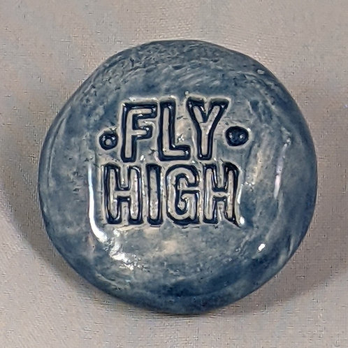 FLY HIGH Pocket Stone - Sapphire Blue